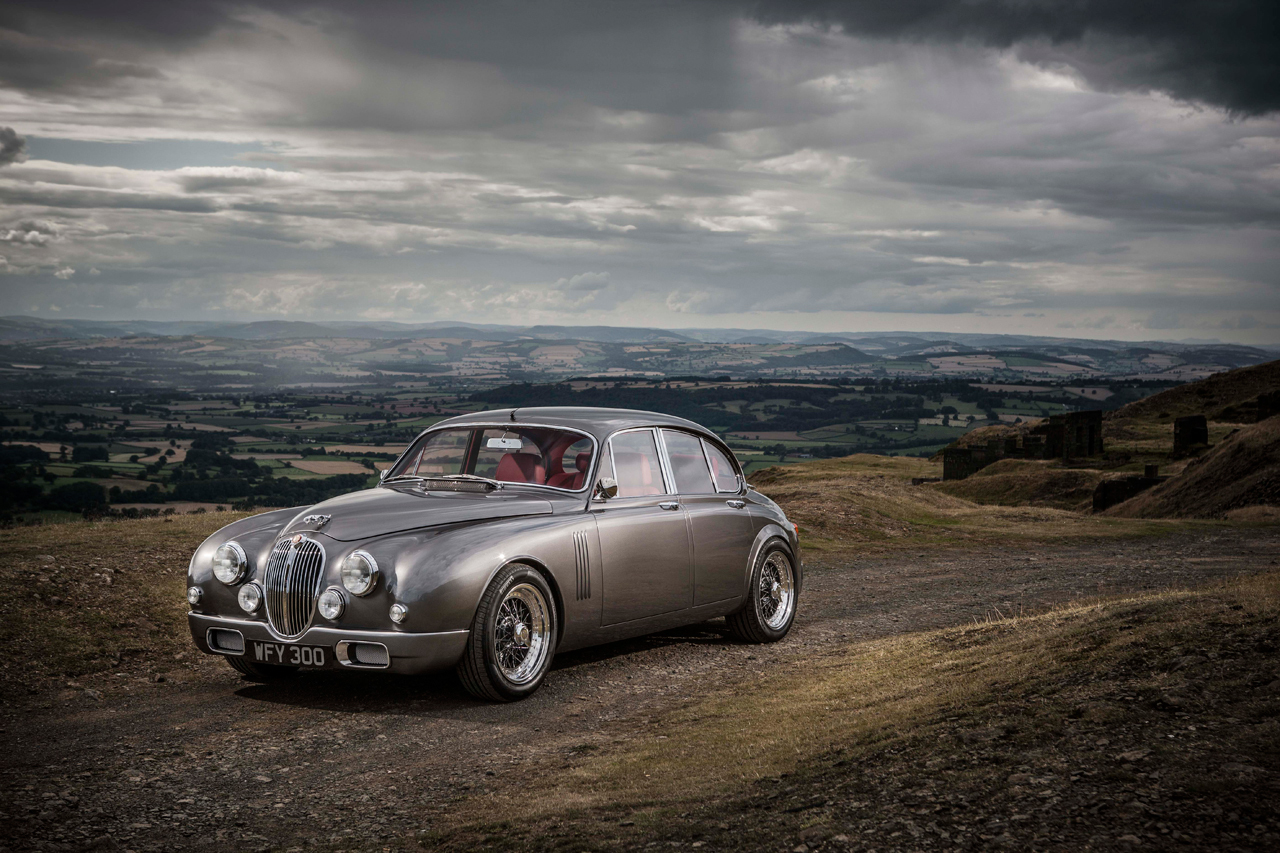 Image of Jaguar's Design Director Ian Callum Creates a Reinterpreted Classic Mark 2