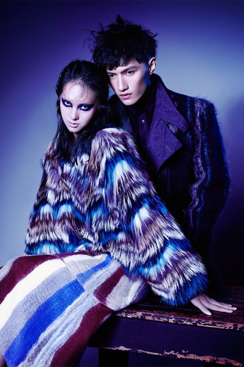 Image of Joyce Presents First Autumn/Winter 2014 Campaign and New Revamped Website