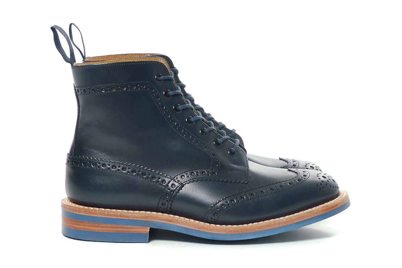 Image of Junya Watanabe MAN x Tricker's 2014 Fall/Winter Steer Smooth Boots