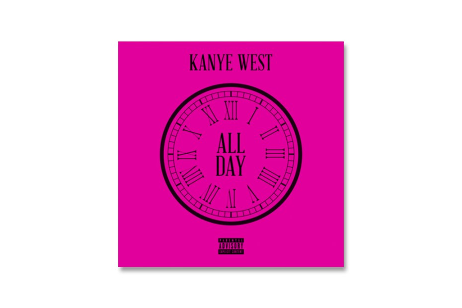 "Image of Kanye West's ""All Day"" Single Leaks"