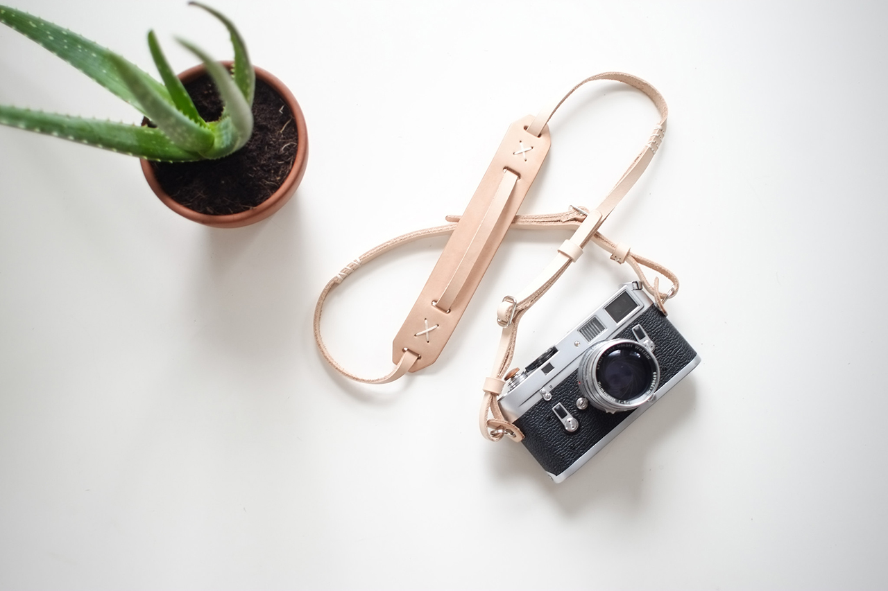 Image of Knickerbocker MFG. Co. x Cub & Co. Adjustable Camera Strap