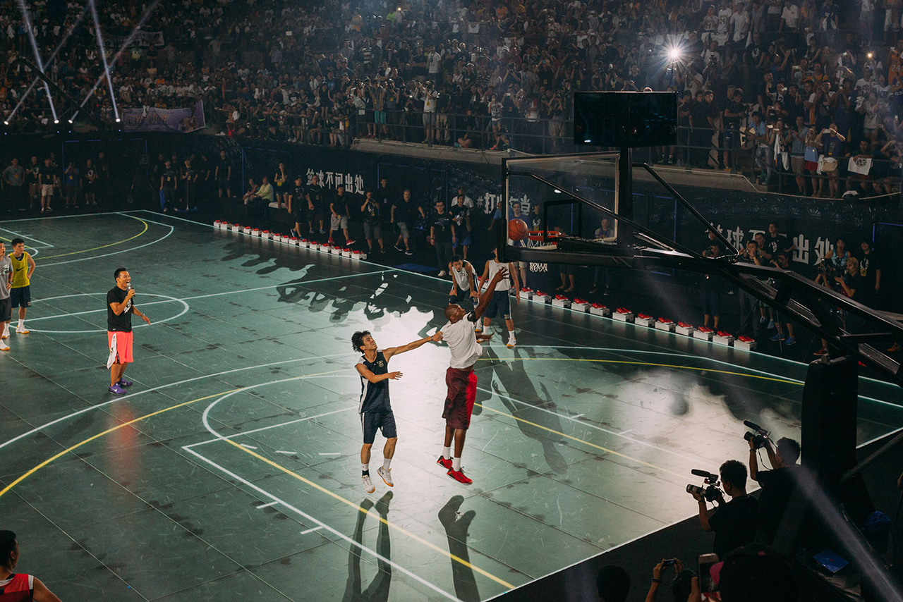 Image of Kobe Bryant for Nike 2014 RISE Basketball Campaign Event Recap