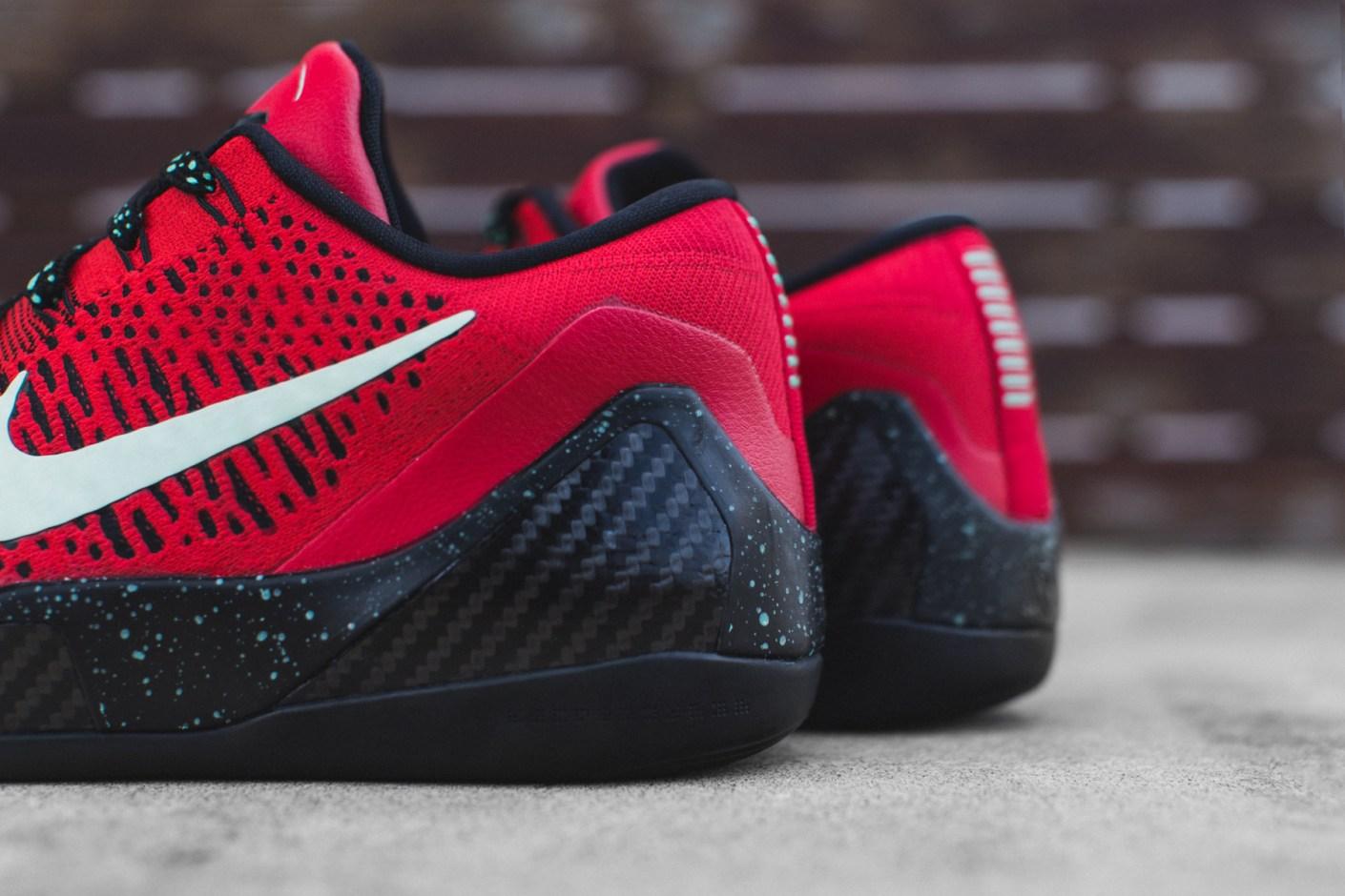 Image of Nike Kobe 9 Elite Low University Red/Black