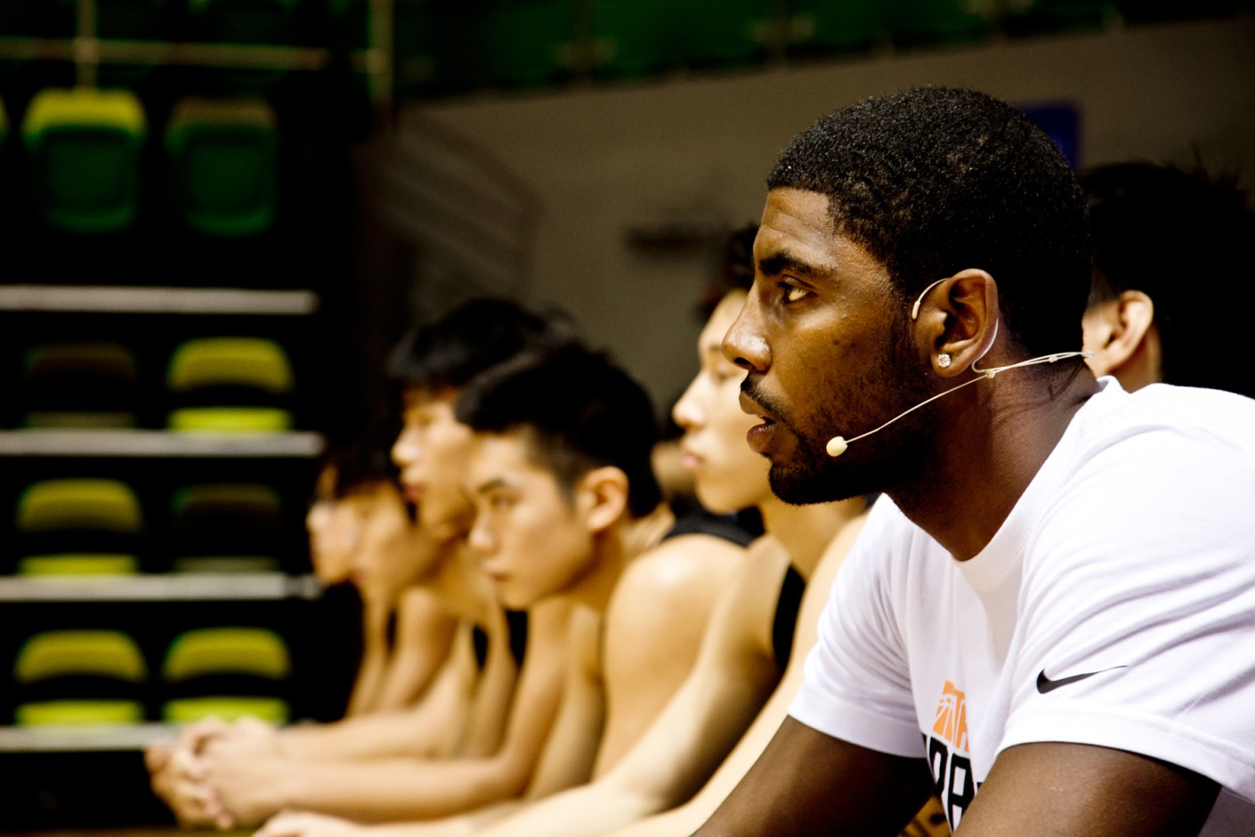 Image of Kyrie Irving Talks Shoes, the Number One Draft Pick and More