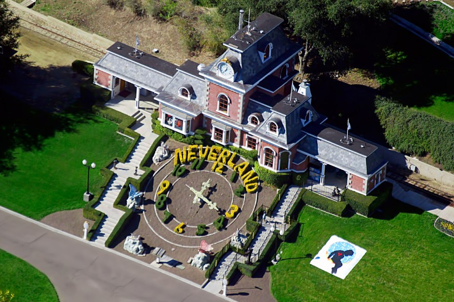 Image of Michael Jackson's Neverland Ranch for Sale