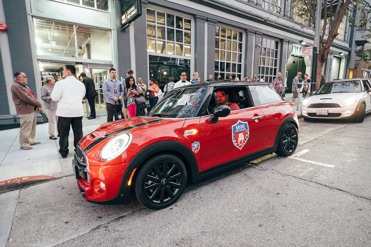 Image of MINI Takes the States 2014 Kicks Off In San Francisco