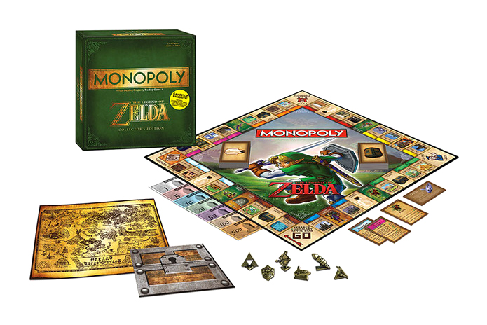Image of Monopoly The Legend of Zelda Edition