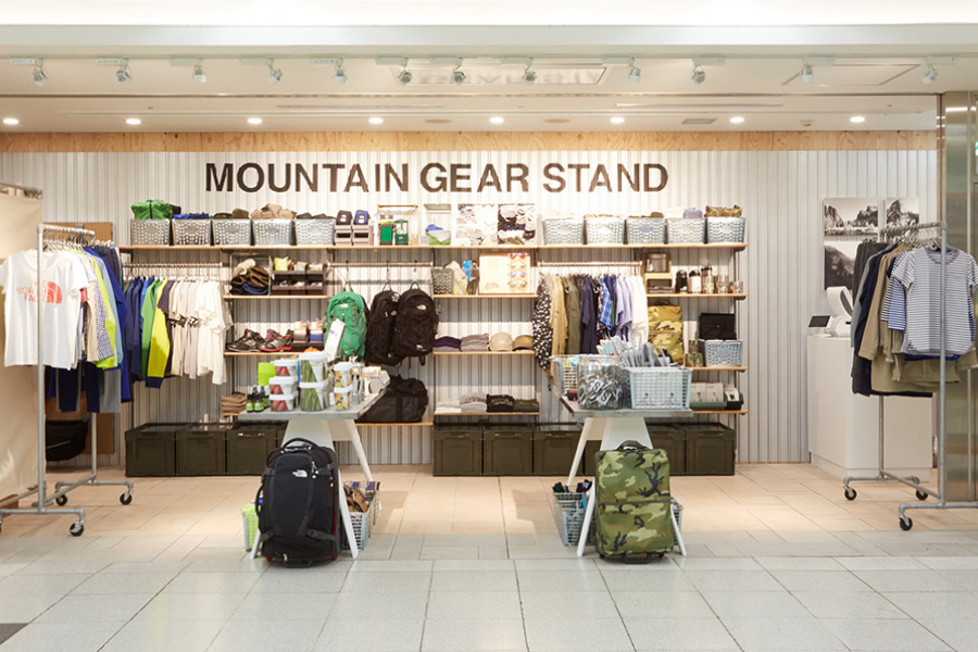 Image of MOUNTAIN GEAR STAND Pop-Up Opens in Shinjuku