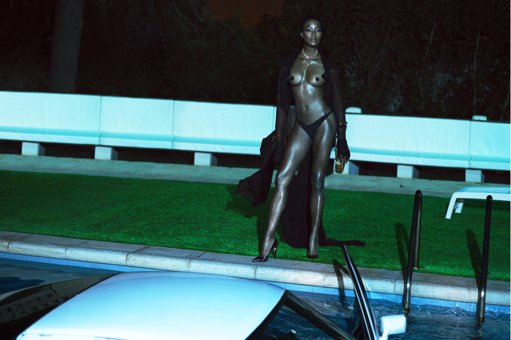 Image of Naomi Campbell by Mert & Marcus for Interview Magazine