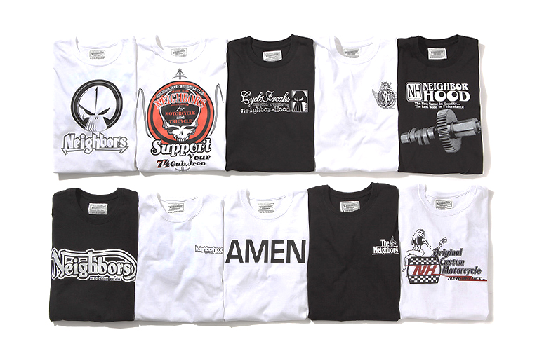 Image of NEIGHBORHOOD 20th Anniversary T-Shirt Collection