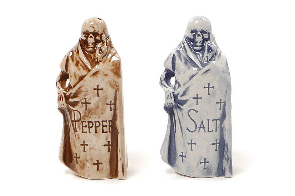 Image of NEIGHBORHOOD Booze Reaper Salt & Pepper Shakers