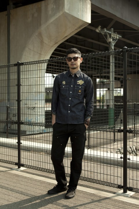 Image of NEIGHBORHOOD x Carhartt WIP 2014 Fall Lookbook