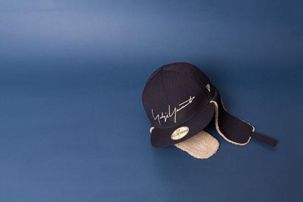 Image of New Era x Yohji Yamamoto Dog Ear Hat & Daypack