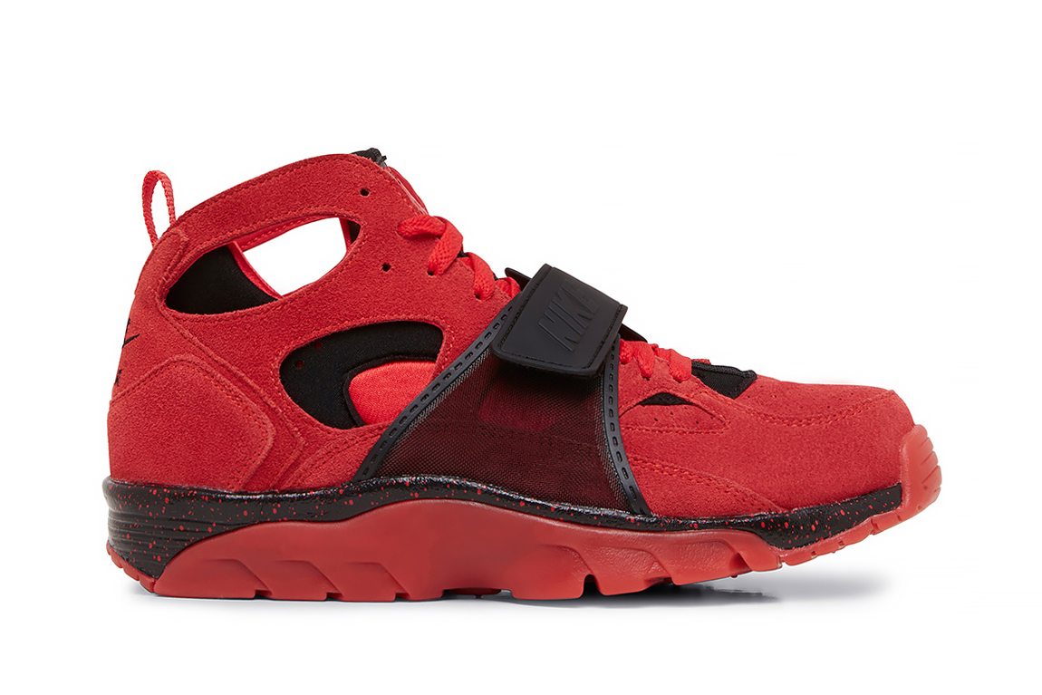 Image of Nike Air Trainer Huarache PRM QS Red/Black