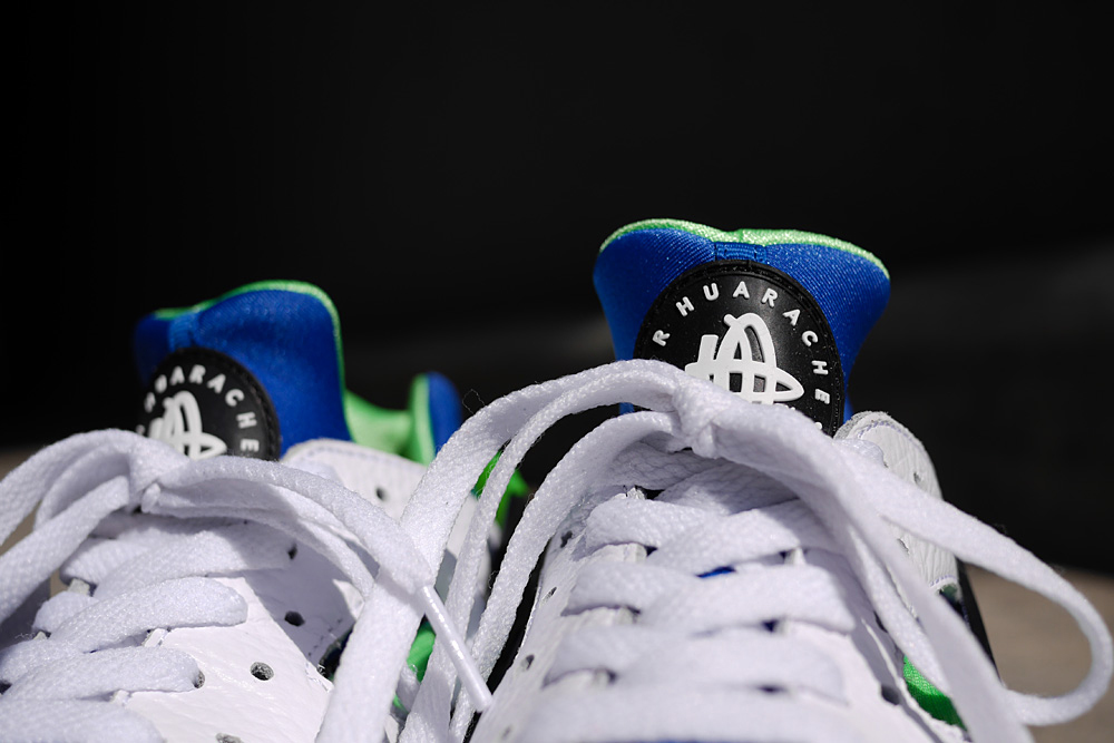 "Image of Nike Air Huarache ""Scream Green"""