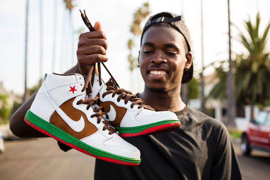 "Image of Nike SB Dunk High Premium ""31st State"""
