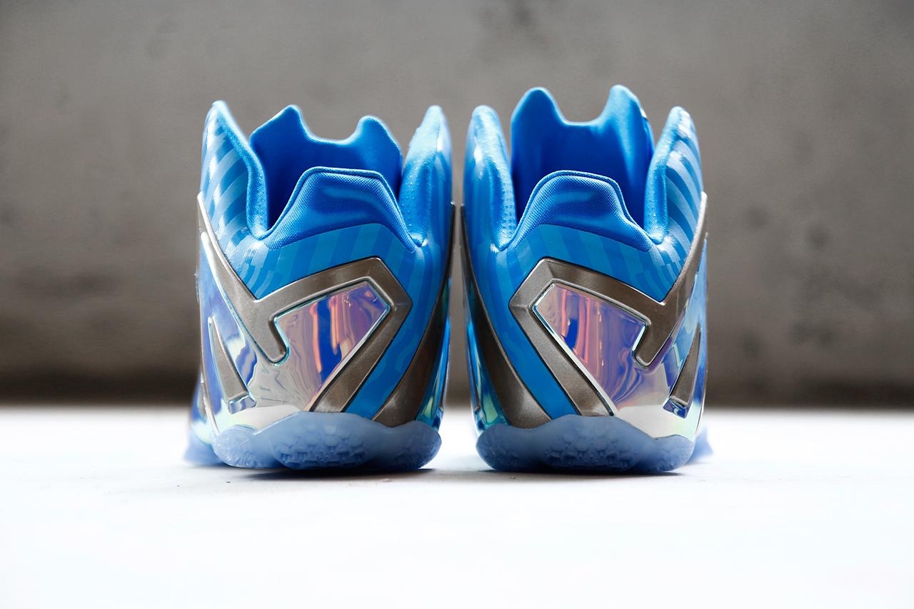 """Image of Nike LeBron 11 Elite """"Blue 3M"""""""