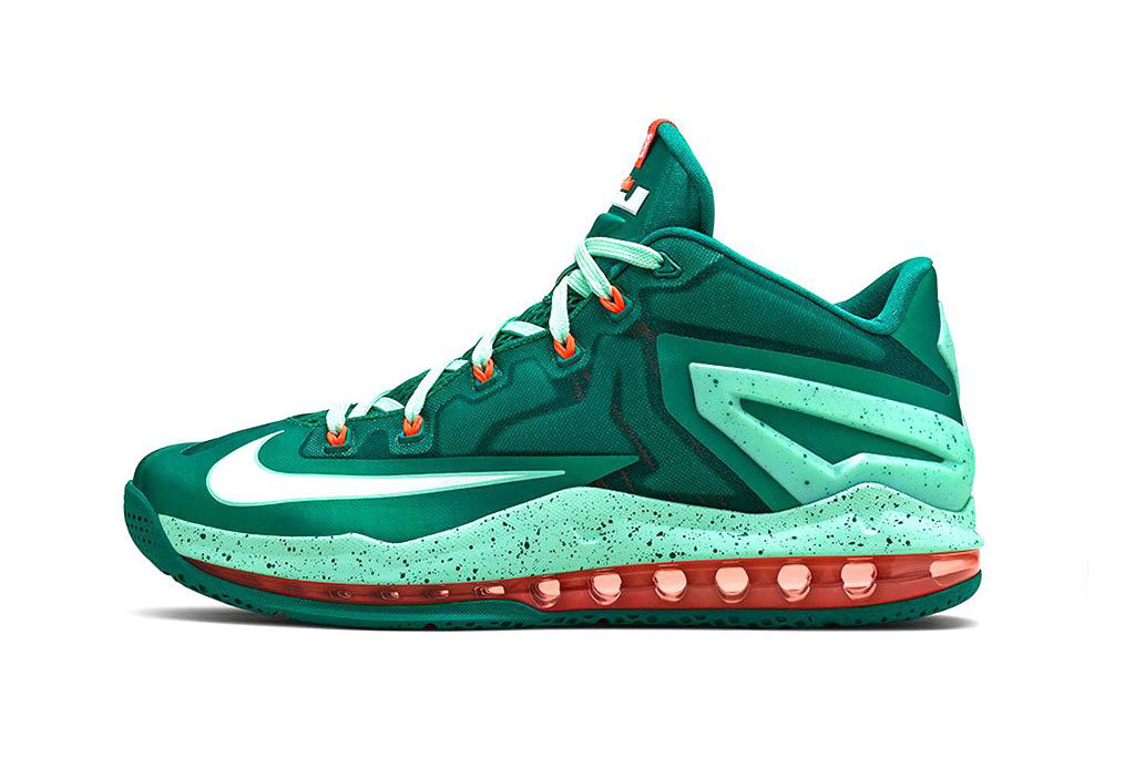 "Image of Nike LeBron 11 Max Low ""Mystic Green"""