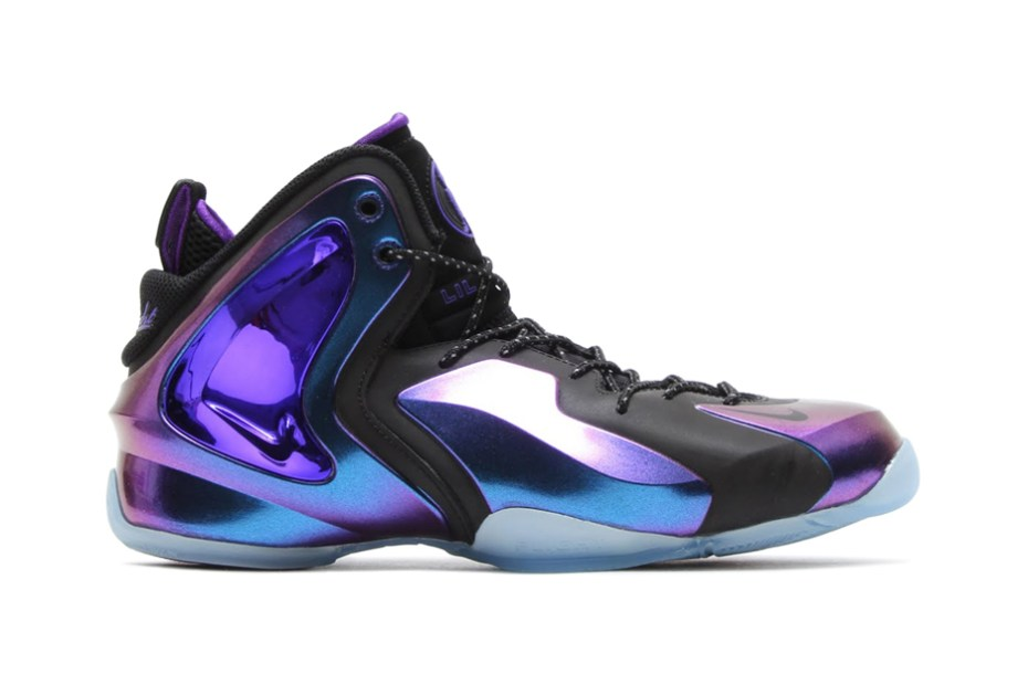 """Image of Nike Lil Penny Posite """"Eggplant"""""""