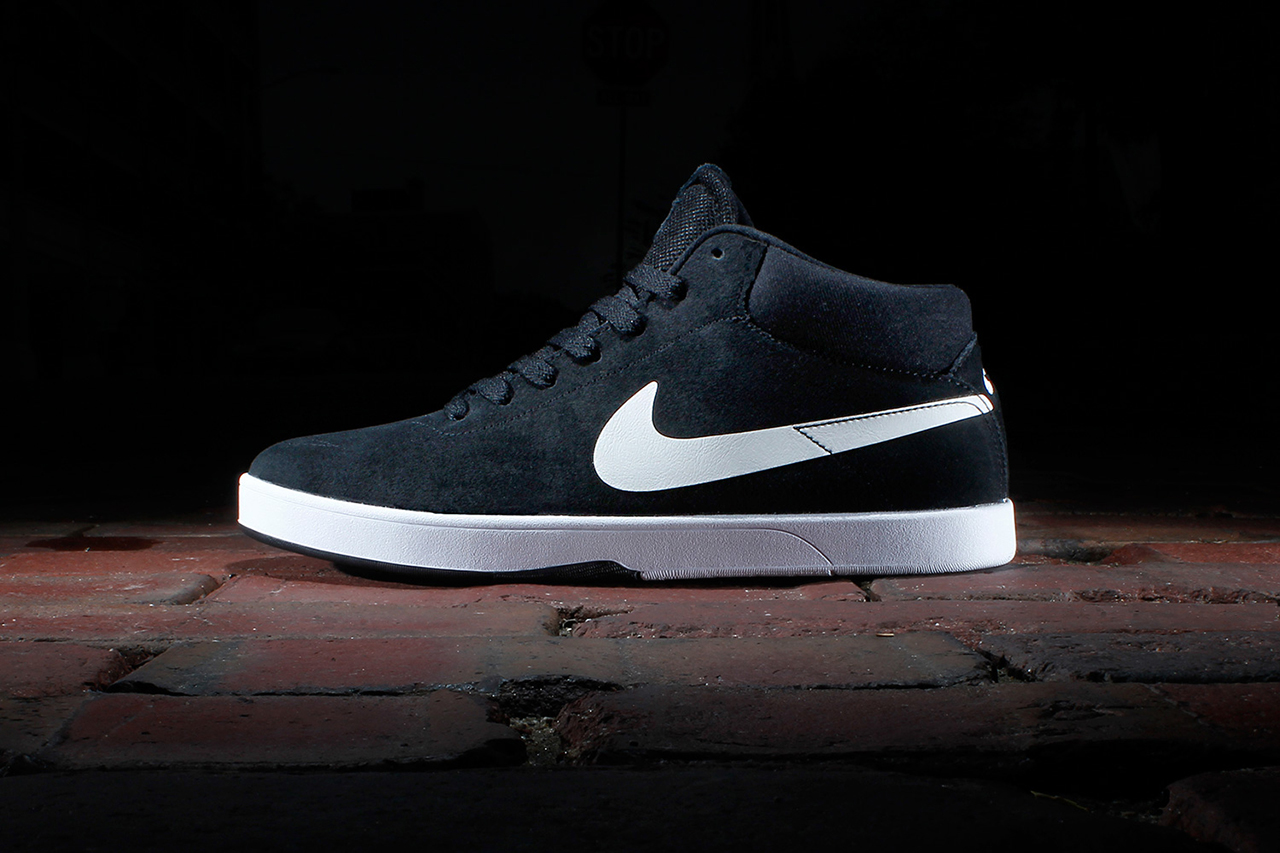 Image of Nike SB Eric Koston Mid Black/White