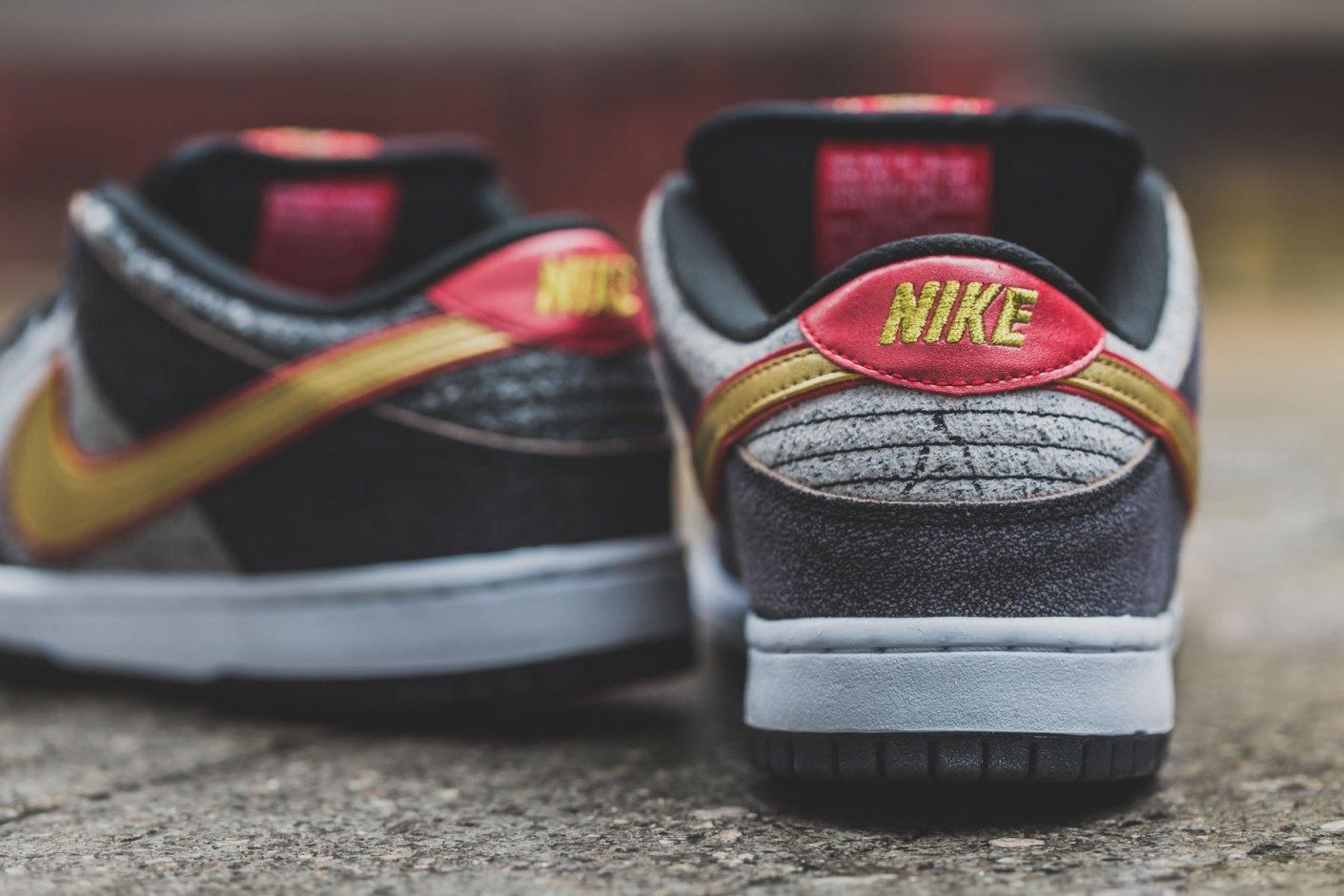 "Image of Nike Dunk Low Premium SB QS ""Beijing"""