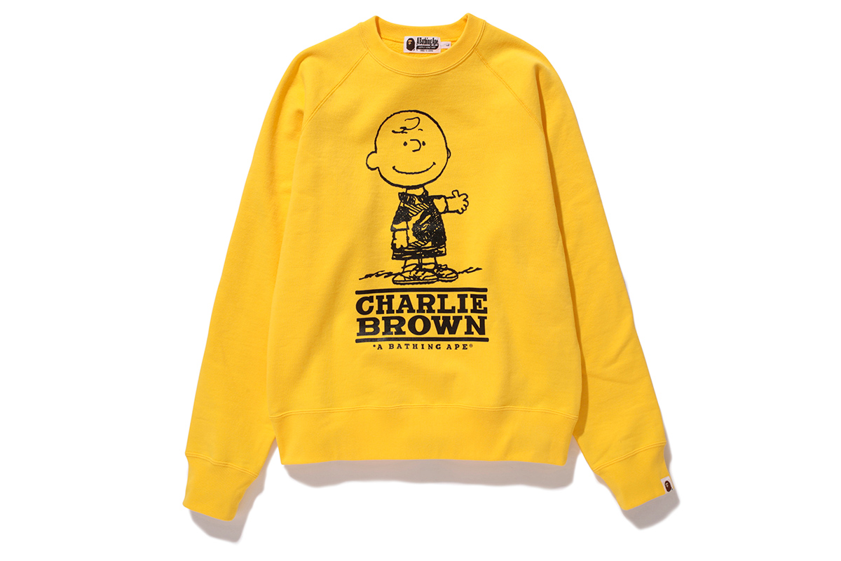 Image of Peanuts x A Bathing Ape 2014 Fall/Winter Collection