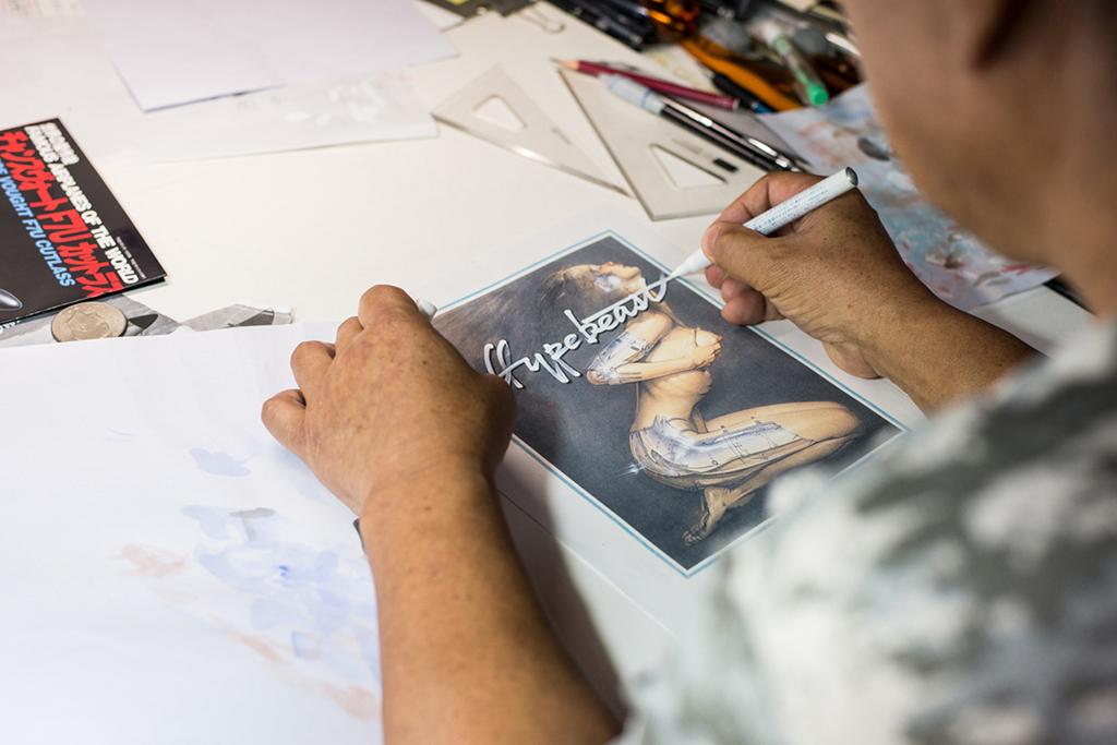 Image of Pen & Paper: Hajime Sorayama (NSFW)
