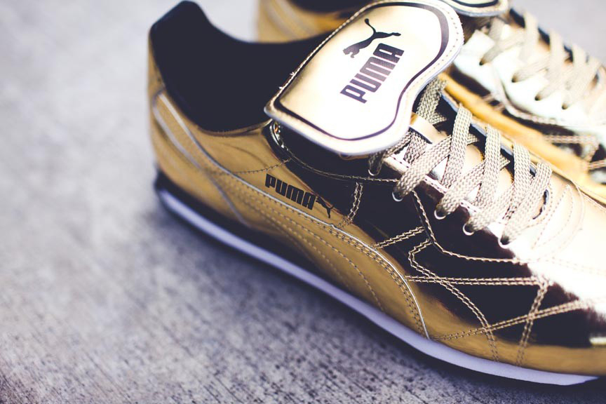 "Image of PUMA 2014 Summer Avanti ""24 Karat Gold"""