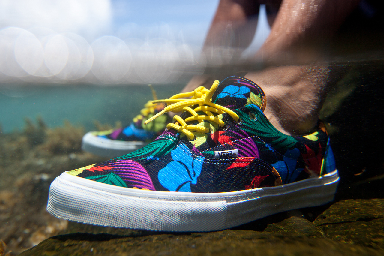 "Image of FITTED Hawaii x Blue Hawaii Surf x Vans ""Waiʻaleʻale"" Era Pro"