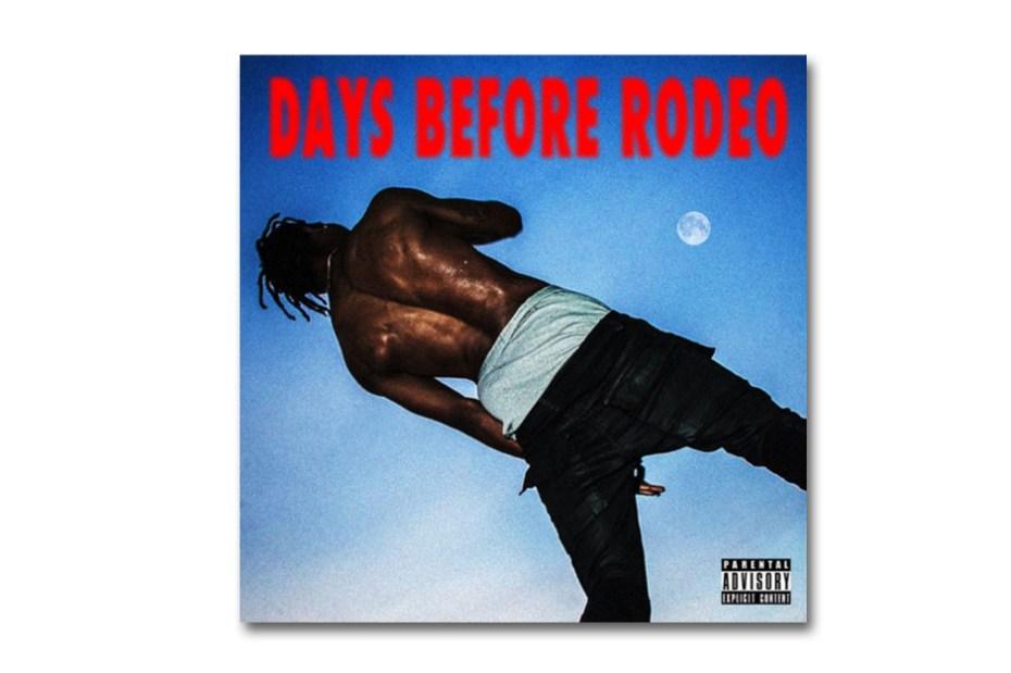 Image of Travi$ Scott 'Days Before Rodeo' Free Album