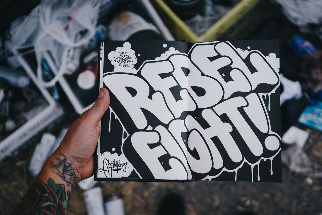 Image of REBEL8 Giant Blackbook
