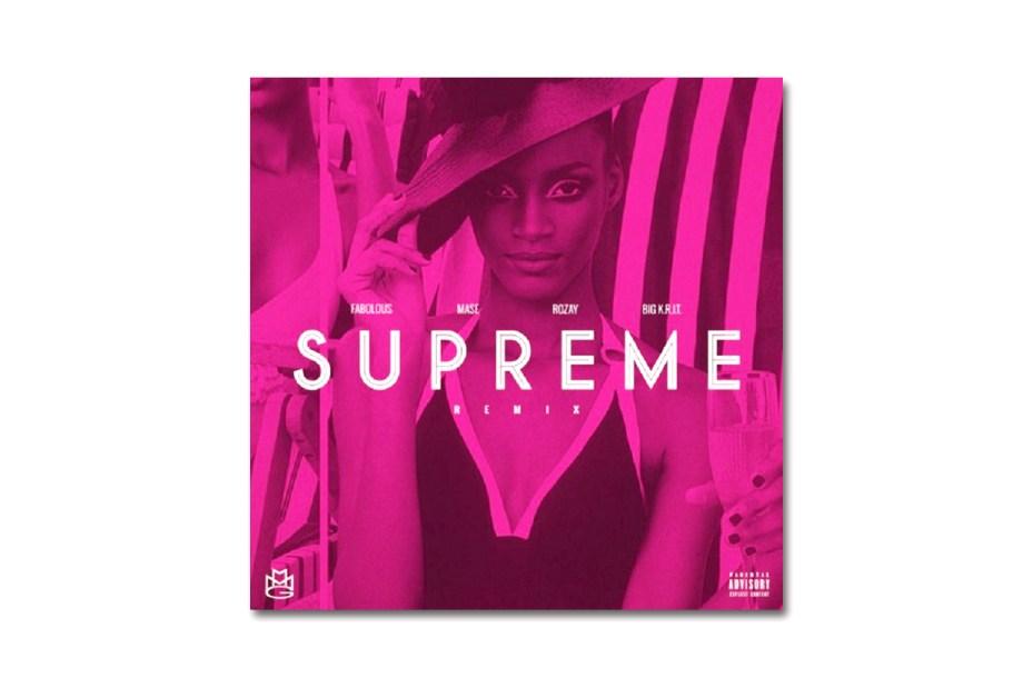 Image of Rick Ross featuring Big K.R.I.T., Ma$e & Fabolous - Supreme (Remix)