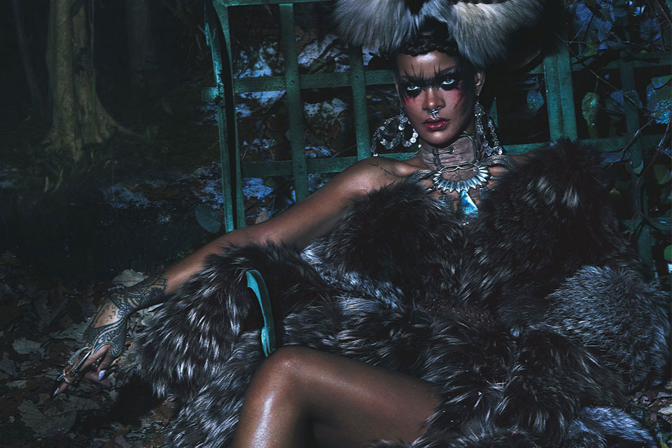 Image of Rihanna by Mert & Marcus for W Magazine