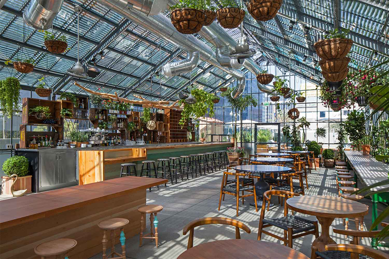 Image of Roy Choi's Commissary at The Line Hotel