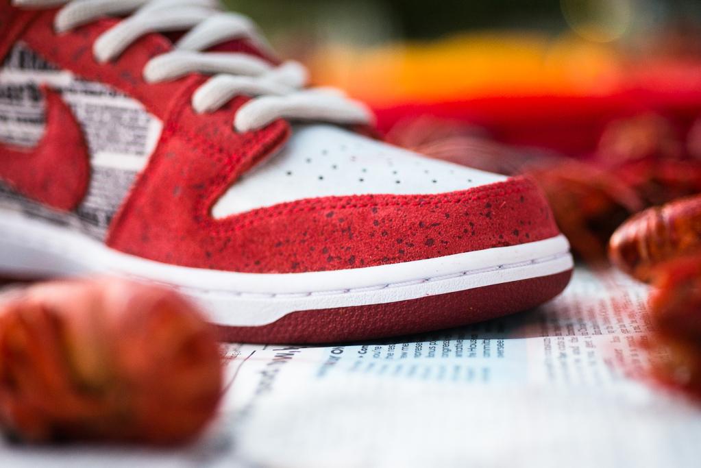"""Image of Rukus x Nike SB Dunk Low QS """"Crawfish"""""""