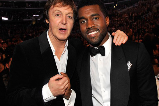 Image of Rumors Surface of Kanye West and Paul McCartney Working Together