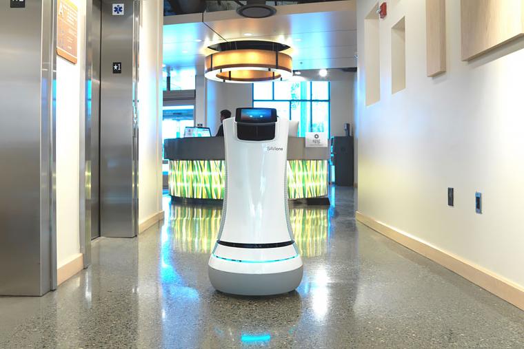 Image of Savioke SaviOne Robot