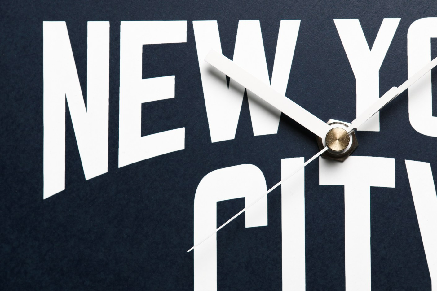 Image of SECOND LAB New York City Clock Collection