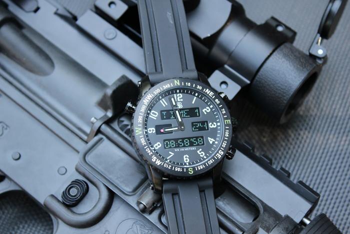 Image of Smith & Bradley Ambush Digital Analog Watch