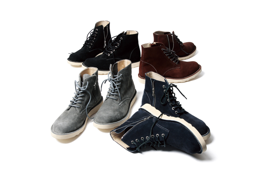 Image of SOPHNET. 2014 Fall 7 Hole Zip Up Boots Collection
