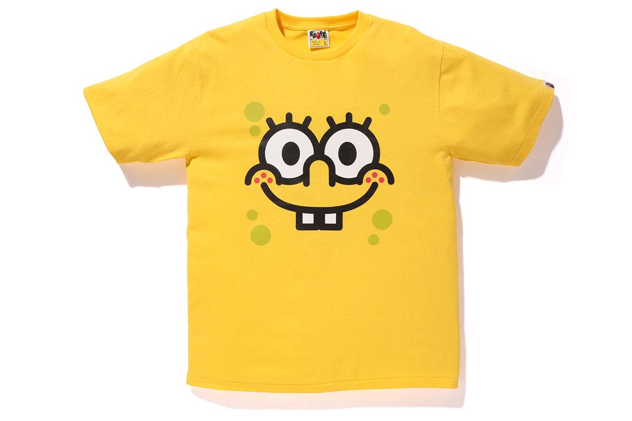 Image of SpongeBob SquarePants x A Bathing Ape 2014 Capsule Collection