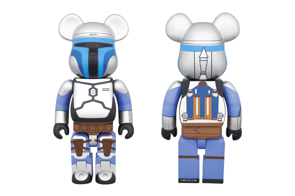 Image of Star Wars x Medicom Toy 400% Jango Fett Bearbrick