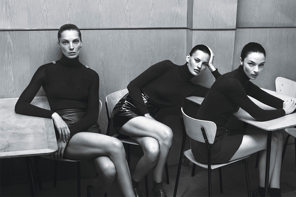 "Image of ""Super Normal Super Models"" by Mert & Marcus for W Magazine"