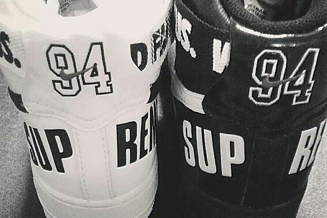 Image of Supreme x Nike 2014 Fall/Winter Air Force 1 Preview