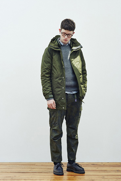 Image of THE NORTH FACE PURPLE LABEL 2014 Fall/Winter Lookbook