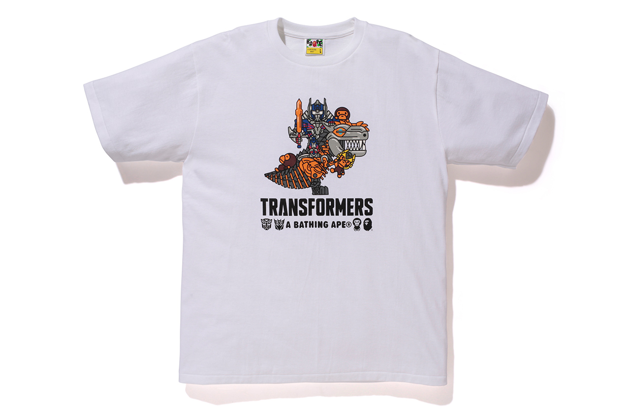Image of Transformers x A Bathing Ape 2014 Capsule Collection