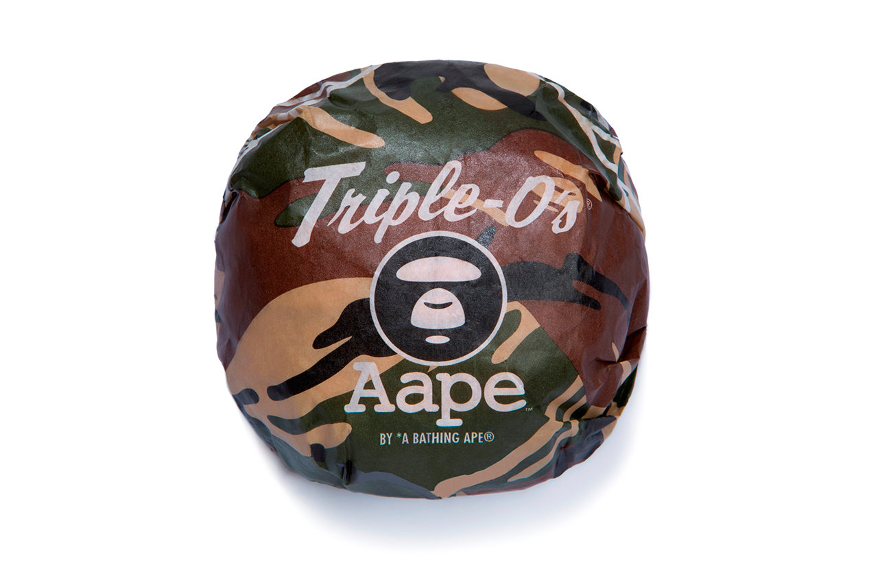 Image of Triple O's Restaurant to Collaborate with AAPE by A Bathing Ape