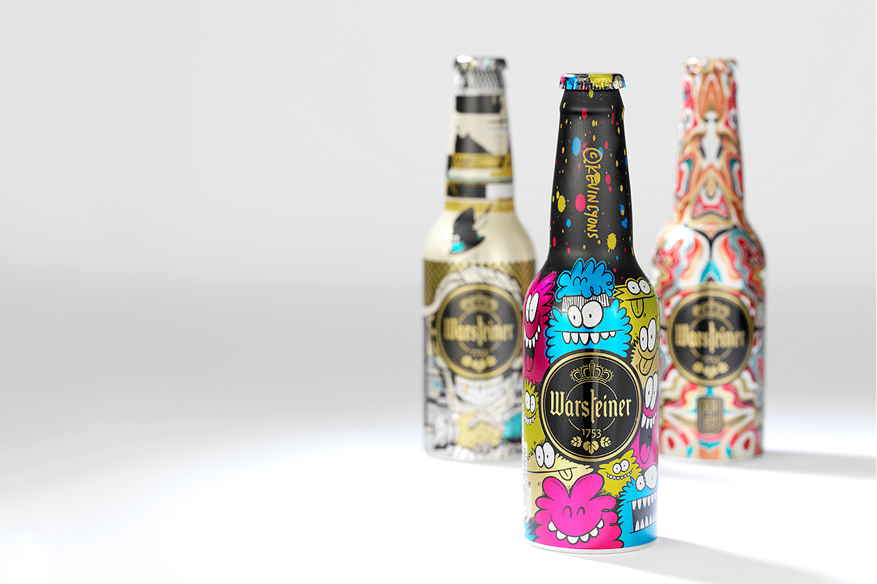 Image of Warsteiner Unveils Its 2014 Art Collection with Fafi, Ron English, D*Face, Kevin Lyons, James Jean and Roids