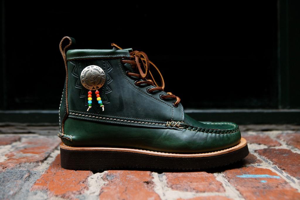 "Image of Yuketen 2014 Fall/Winter Native Maine Guide Boot ""Loden Green"""