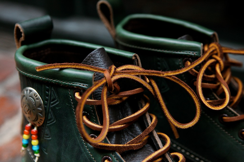 "Image of Yuketen 2014 Fall/Winter Native Maine Guide Boot ""Loden Green"""